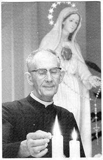 De pater had een sterke devotie tot de Heilige Maagd Maria